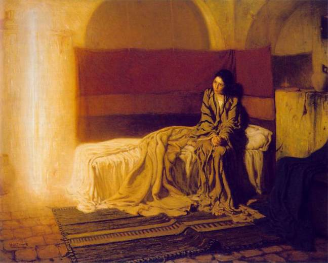 The Annunciation - Henry Ossawa Tanner – 1898